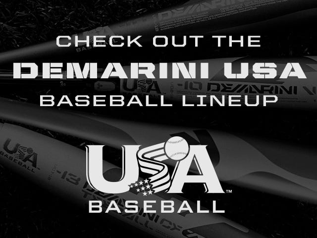 Check out the DeMarini USA Baseball Line up
