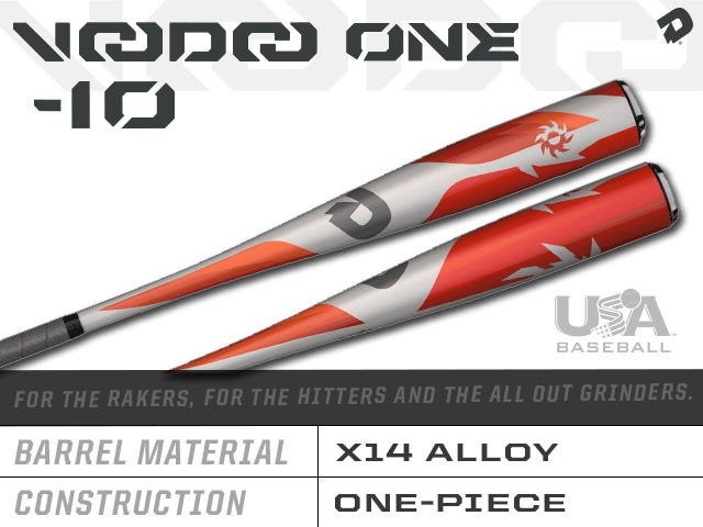 2018 Voodoo One -10 Usa Baseball Bat