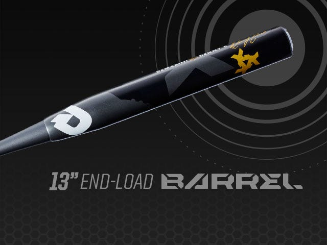 """Close up graphic showing 13"""" end-load barrel"""