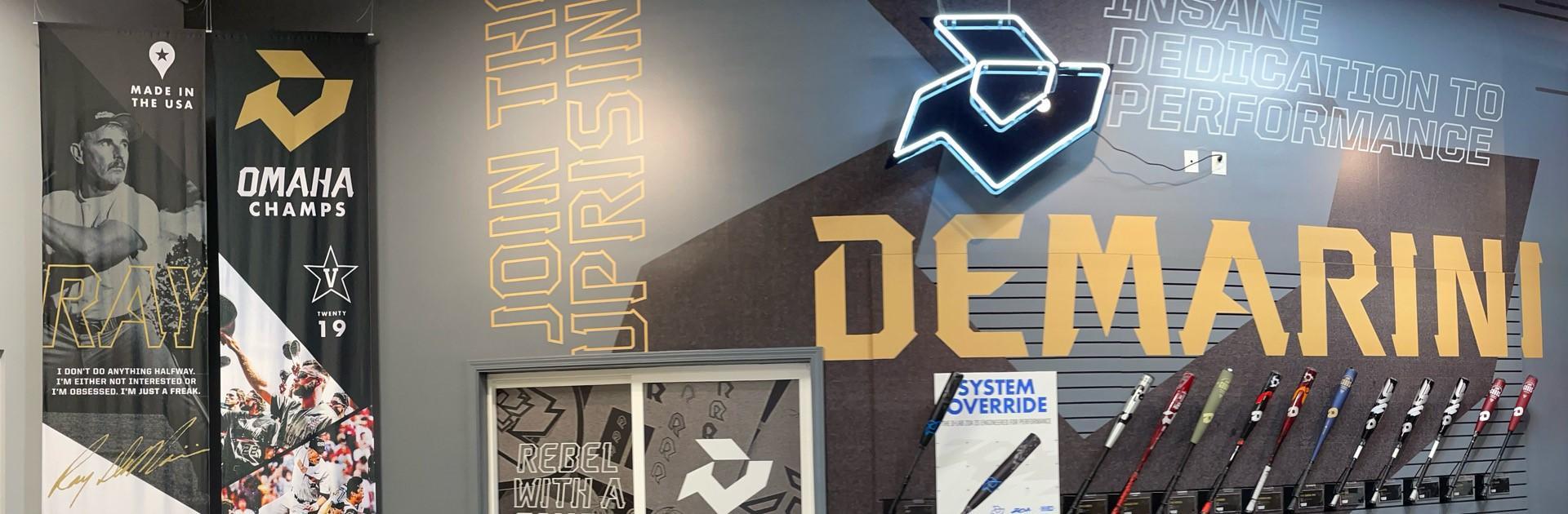2022-DeMarini-Logo-Rayzr'D-Omaha-Experience-The-Goods-Voodoo-One