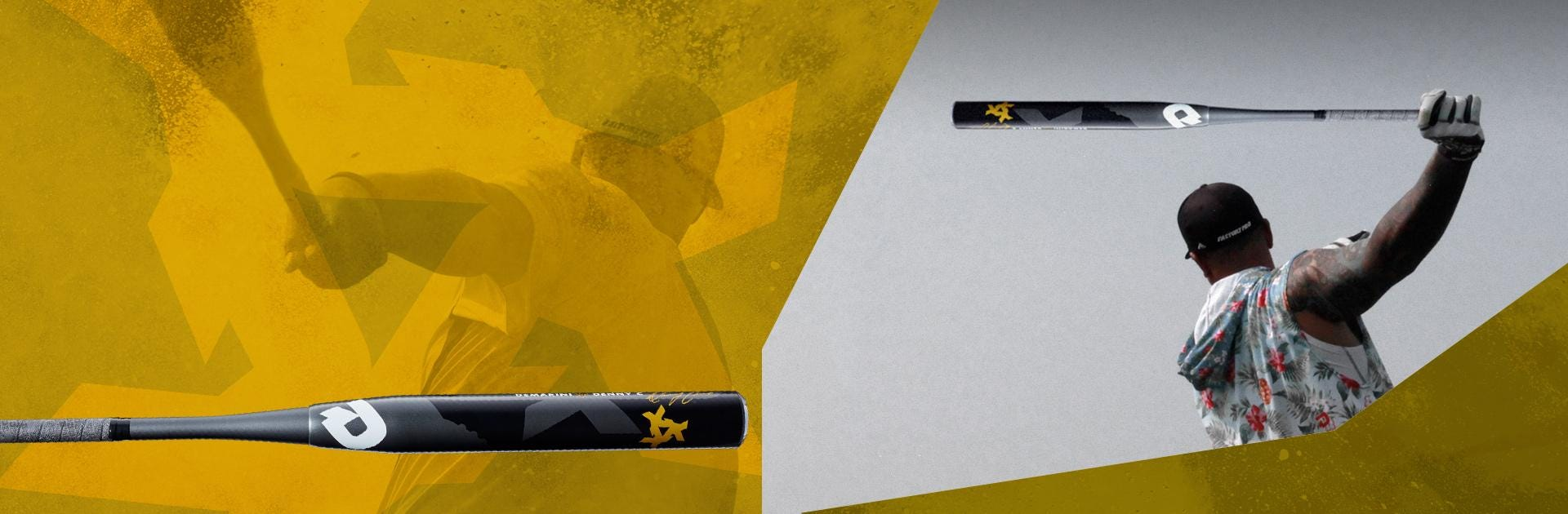 Banner image of bat and player swinging